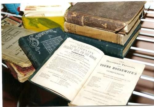 1800s cookbooks