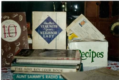 old time radio program cookbooks