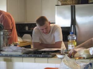 Ryan reads recipe again