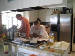Ryan reads the recipe
