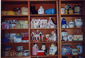 Sandra Smith's Collection of Cookie Jars