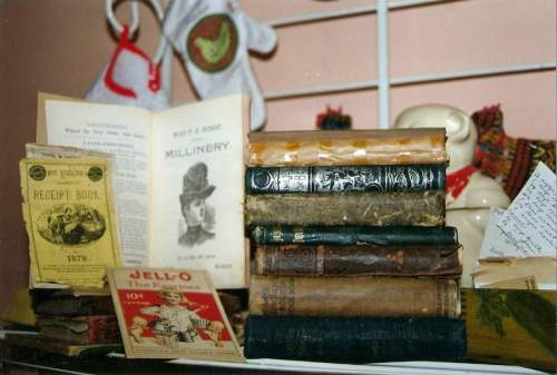 some very old cookbooks