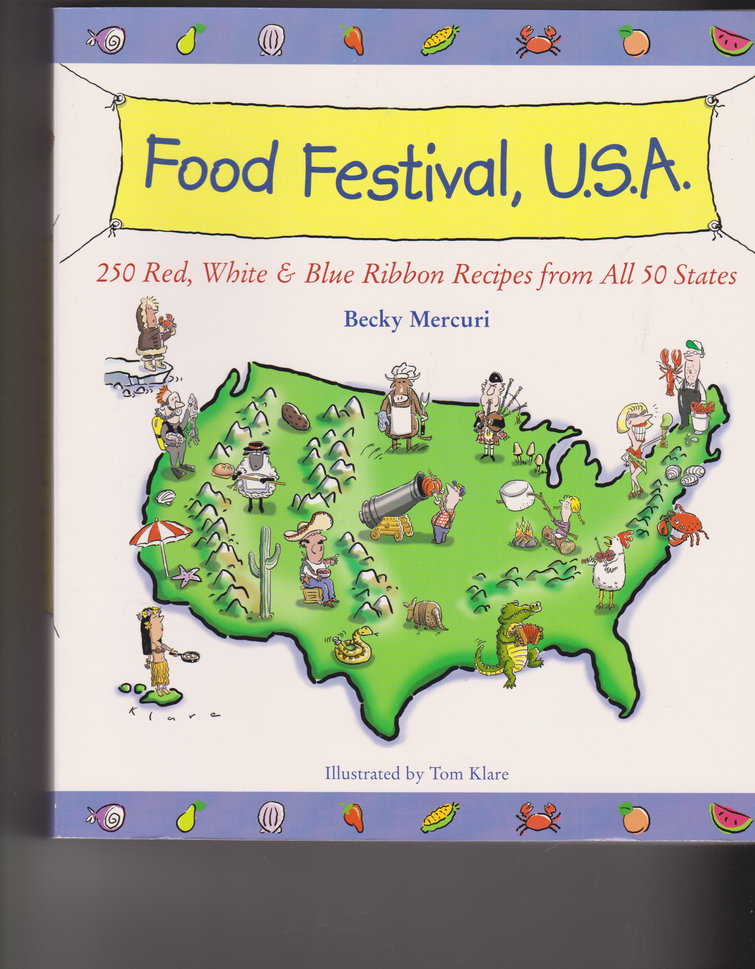 Food Festival Usa Sandys Chatter Food Map Usa