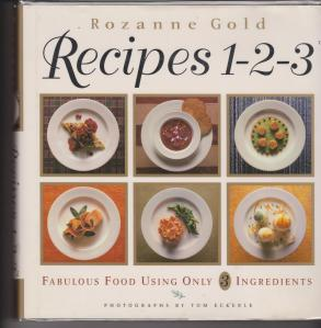 RECIPES 1-2-3 BY ROZANNE GOLD 001