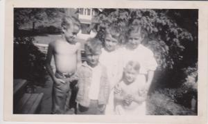 SANDY WITH COUSINS DANNY & JOHNNY & BROTHERS BIFF & BILL 001